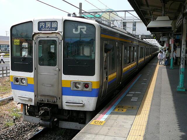 内房線の電車
