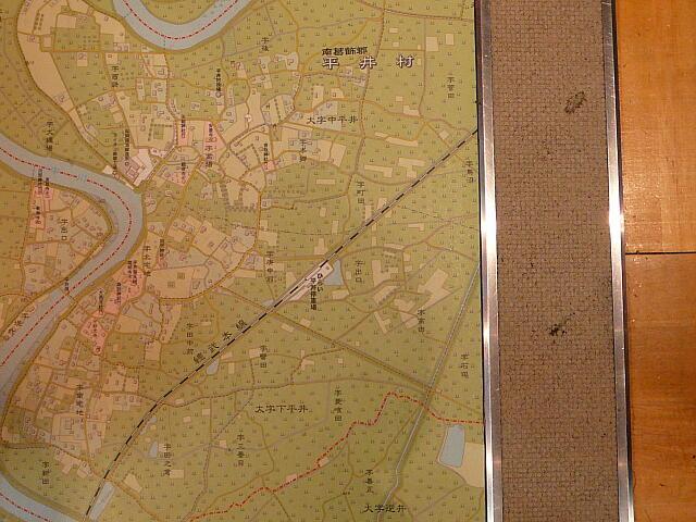 平井付近の地図