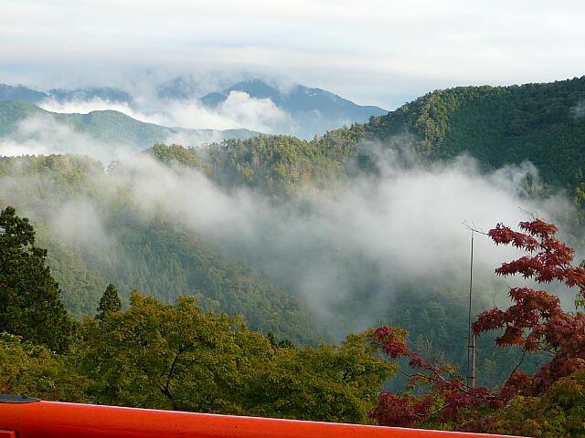 鞍馬山からの眺め