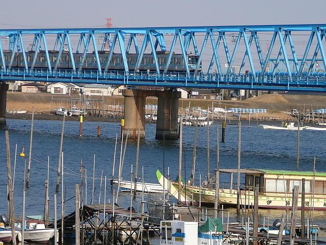 東西線の鉄橋
