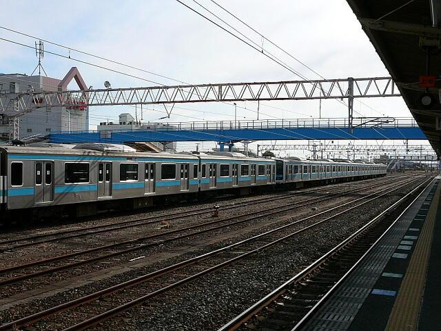 高萩駅の209系