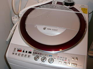 新しい洗濯機
