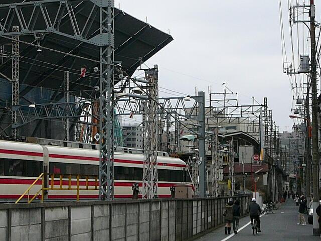 業平橋駅付近