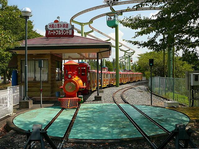 東武動物公園の遊覧鉄道