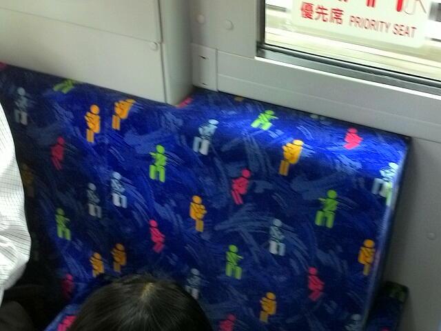 京成バスの優先席