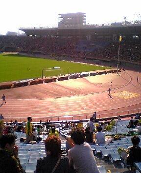 国立競技場のスタンド