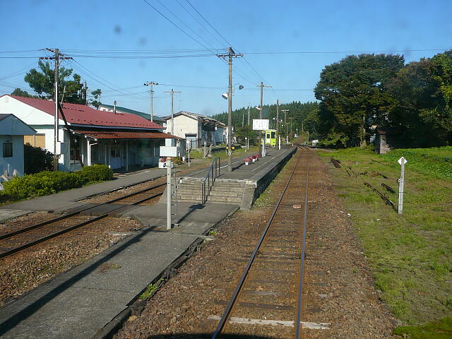 秋田内陸縦貫鉄道: 合川駅