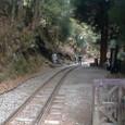石猴駅手前の線路