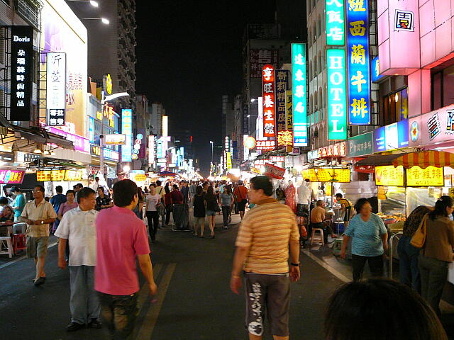 夜市の通り
