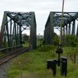 留萌駅の近所の鉄橋
