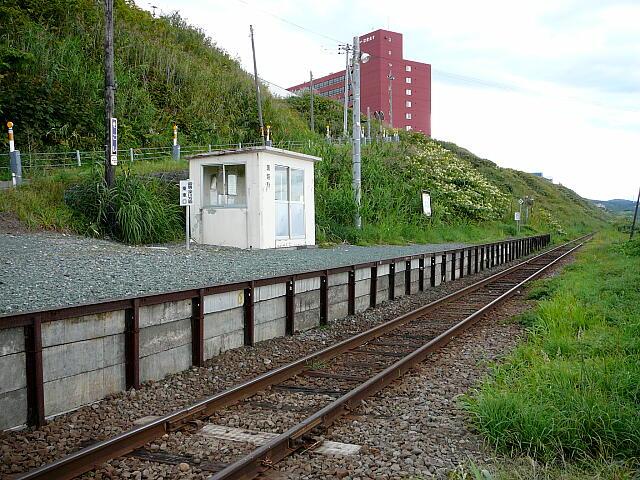 瀬越駅ホーム